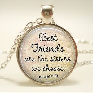 Jewelry - 🆕 Best Friends are the Sisters We Choose Necklace
